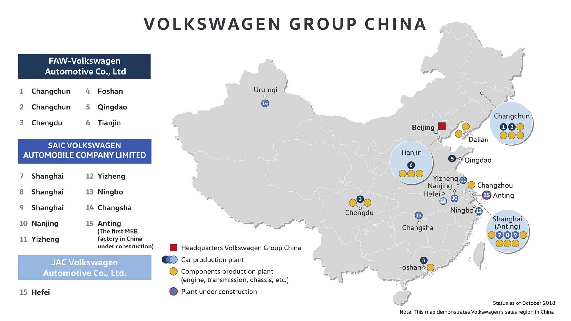 Volkswagen-Group-China-manufacturing-plants