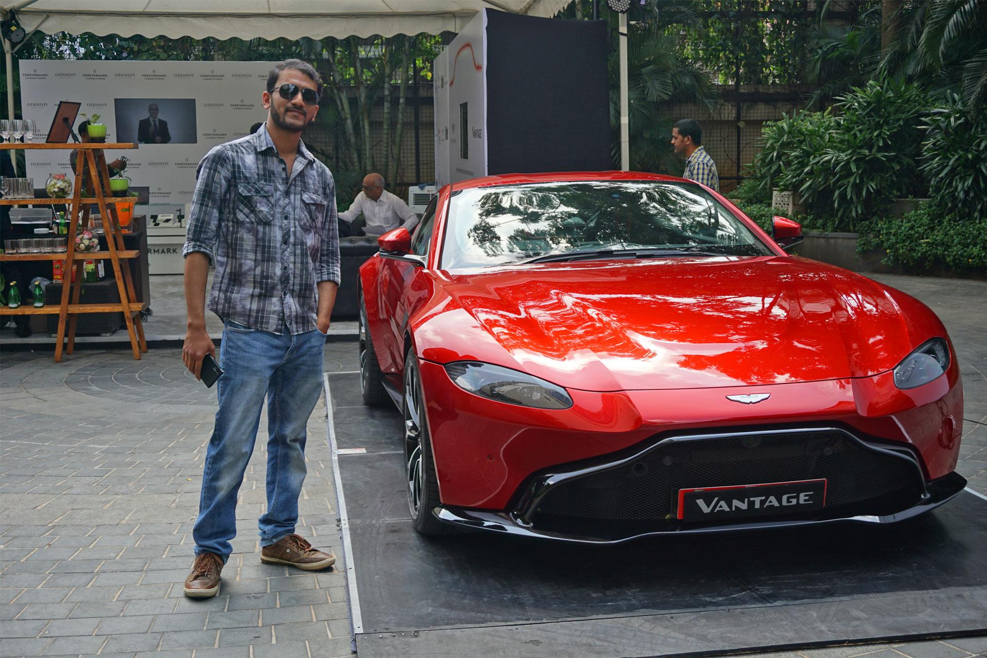 Bumped Into The New Aston Martin Vantage Autodevot