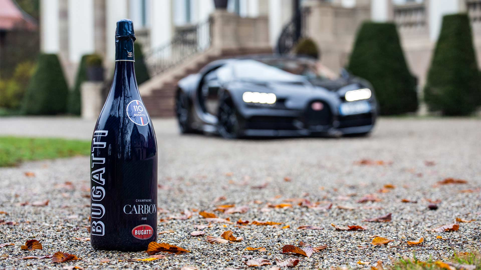 Bugatti and Champagne Carbon Partnership