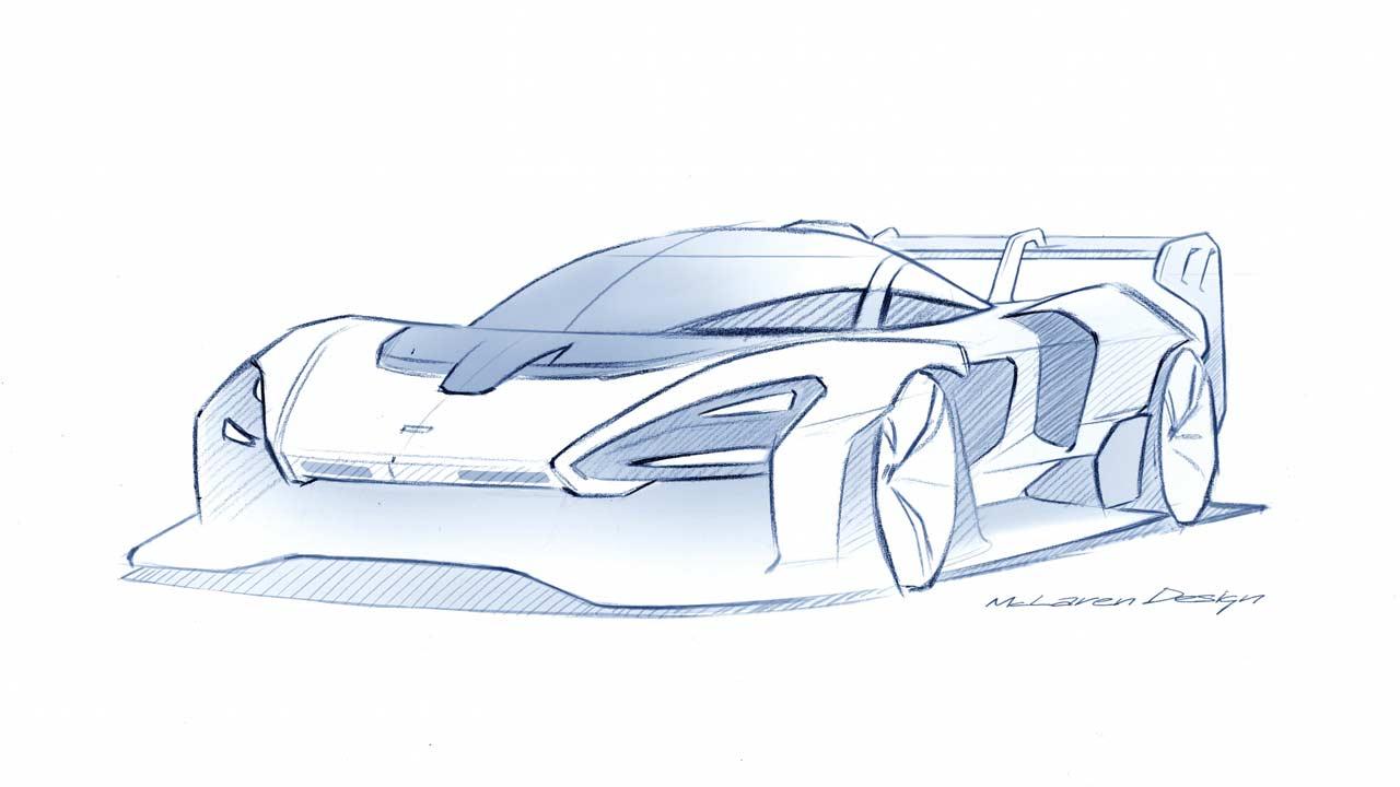 McLaren-Senna-GTR-sketch