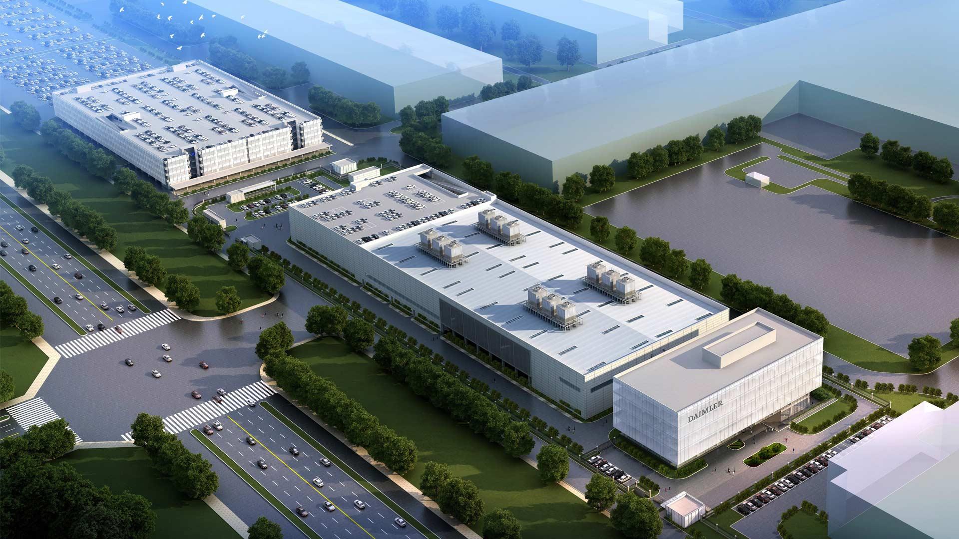 Mercedes-Benz 2nd R&D site in Beijing