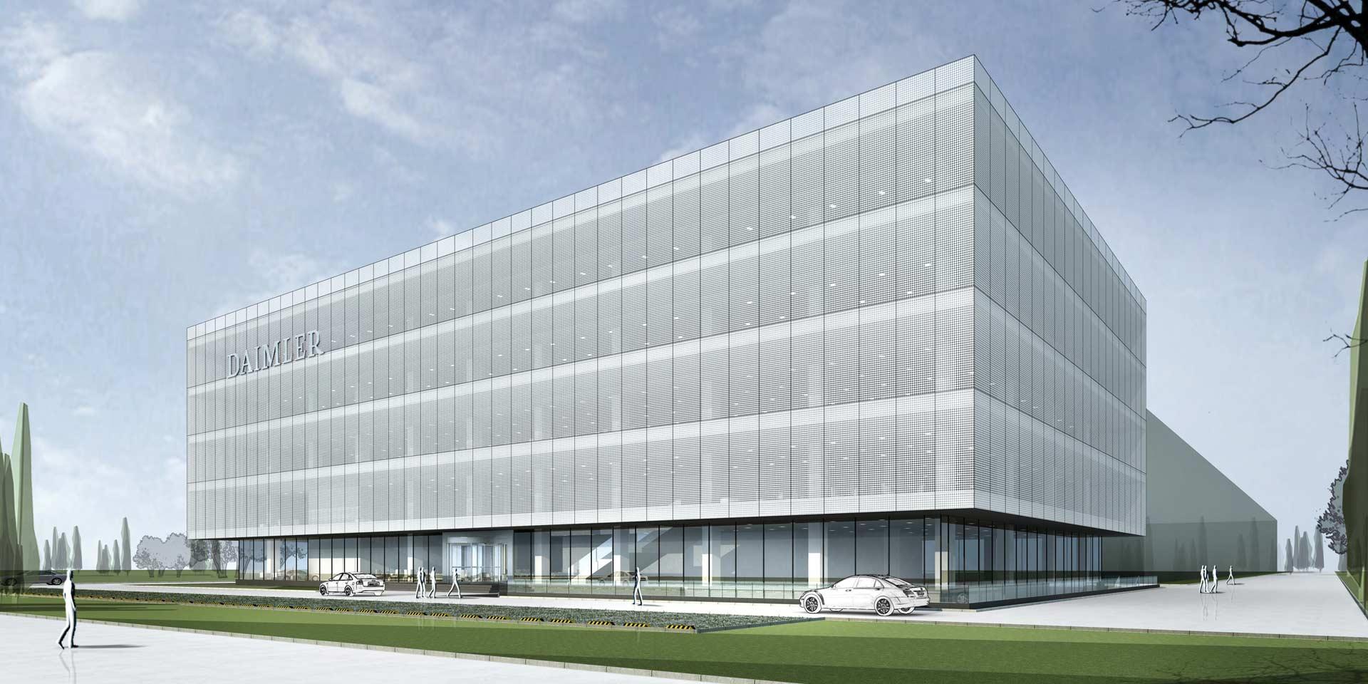 Mercedes-Benz 2nd R&D site in Beijing_2