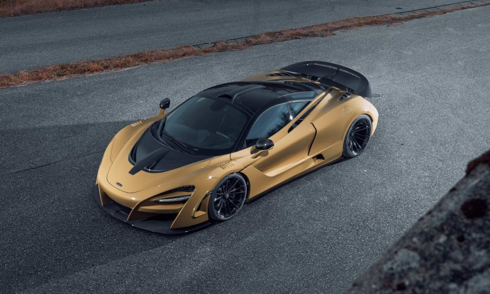 Mclaren 720s Gets Widebody Kit And Power Upgrade From