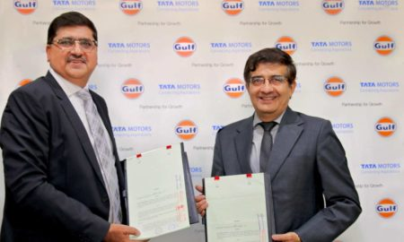 Tata-Motors-Gulf-Oil-co-branded lubricant