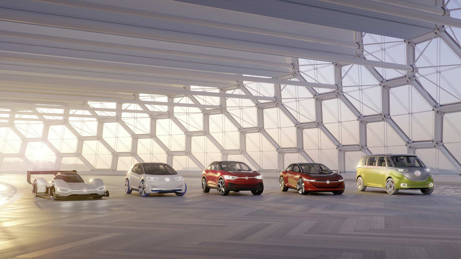 Volkswagen-I.D.family-of-electric-vehicles