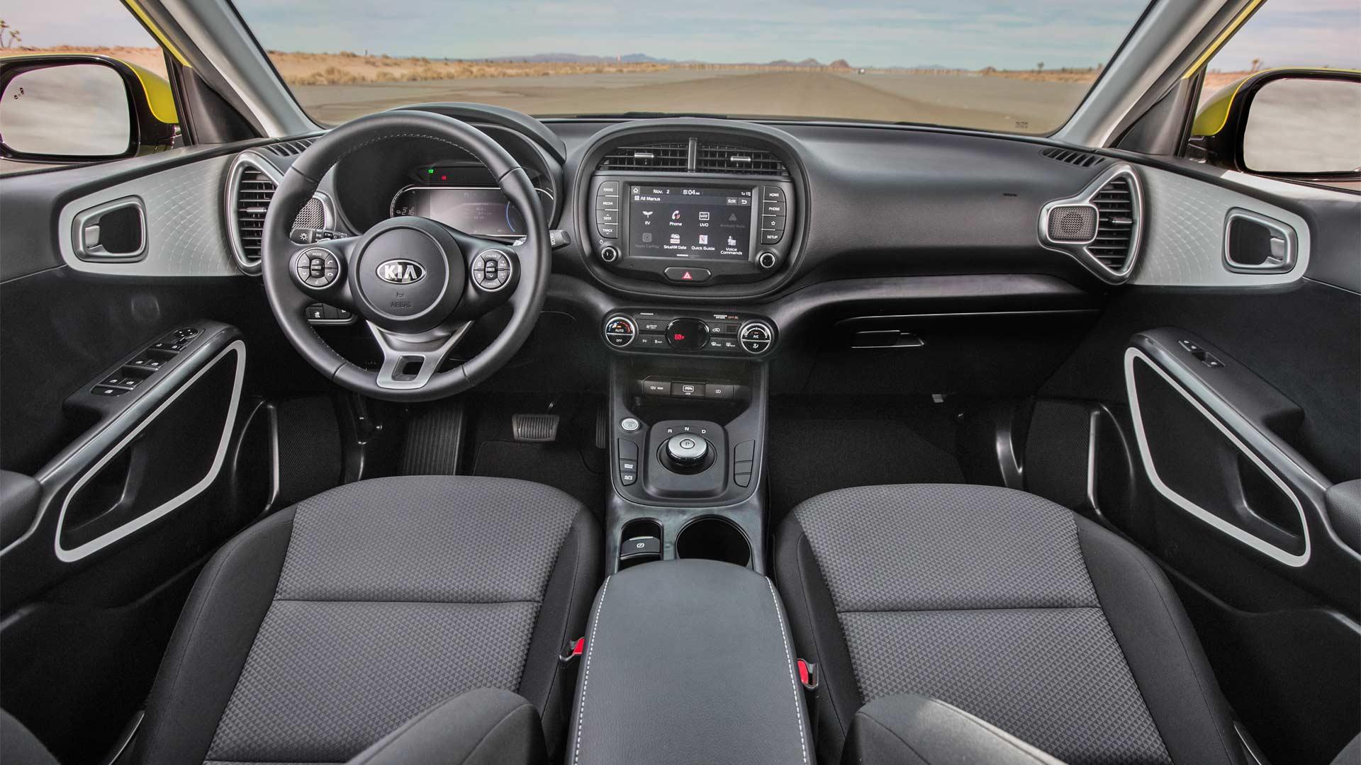2020-Kia-Soul-EV-Interior