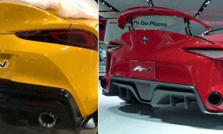 2020-Toyota-Supra-rear-spyshot-FT-1-Comparision