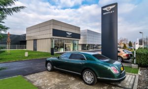Bentley Budapest Hungary Showroom