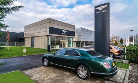 Bentley Budapest Hungary Showroom