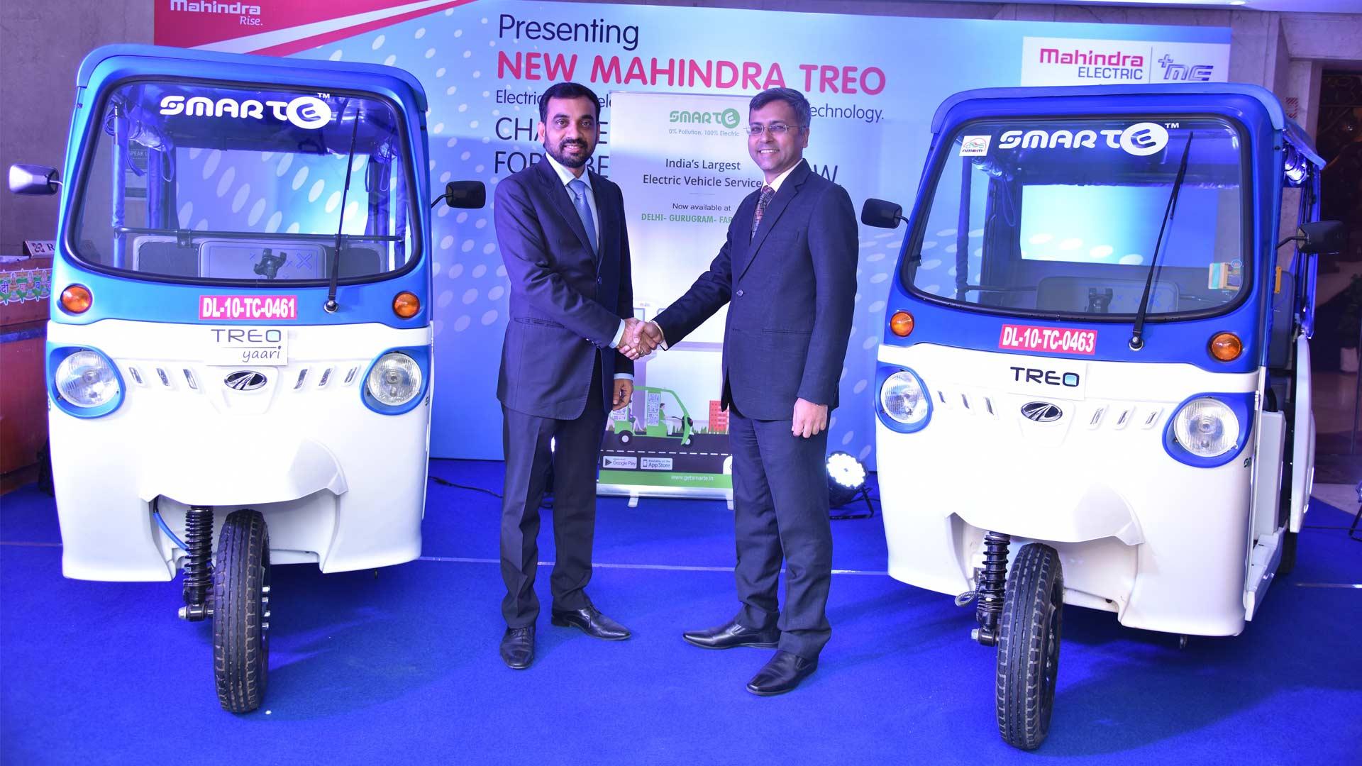 Mahindra Electric and SmartE Strategic Partnership