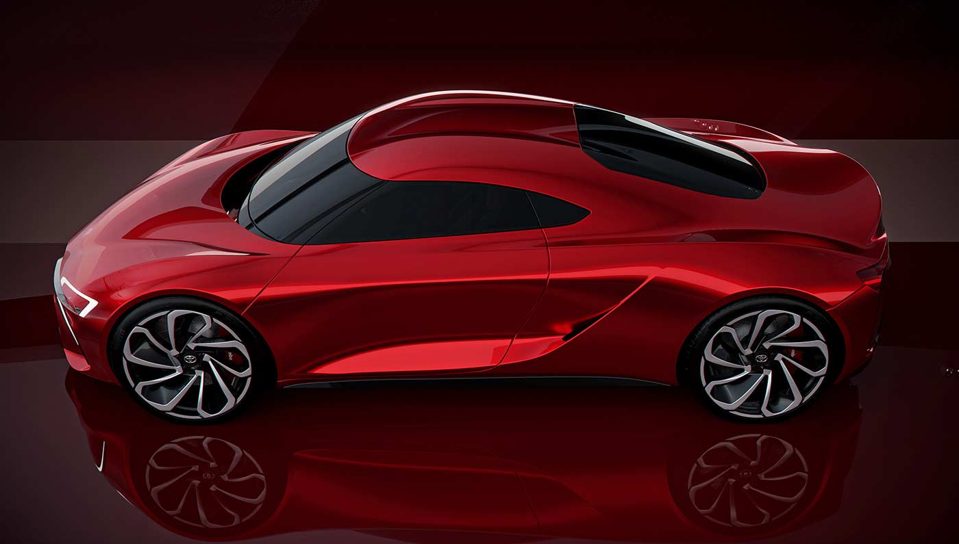 New Toyota Mr2 Concept Fan Rendering 4