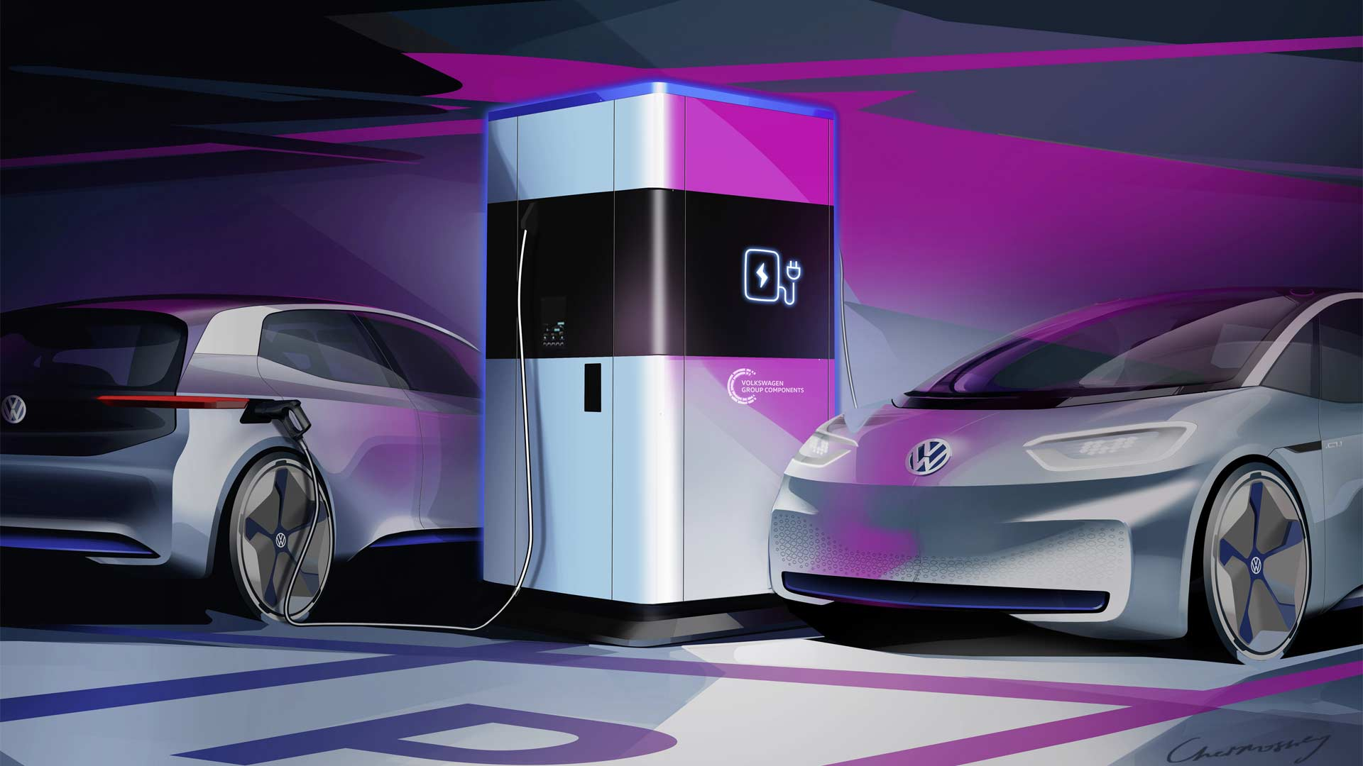Volkswagen-mobile-quick-charging-station