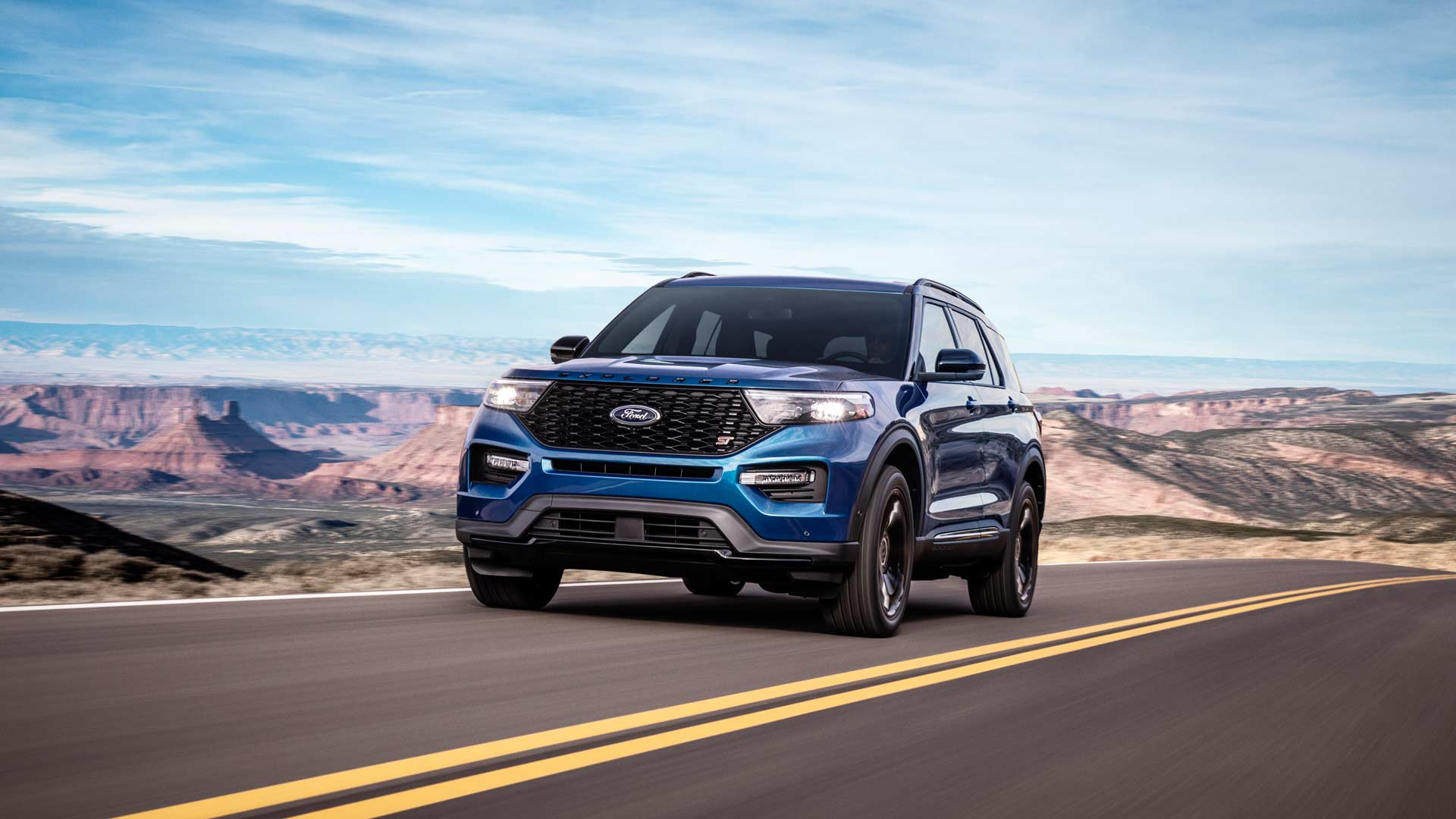2020 Ford Explorer Gets St And Hybrid Variants Autodevot
