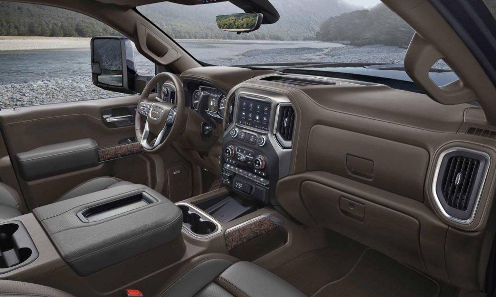 2020 GMC Sierra Heavy Duty debuts with more technology ...