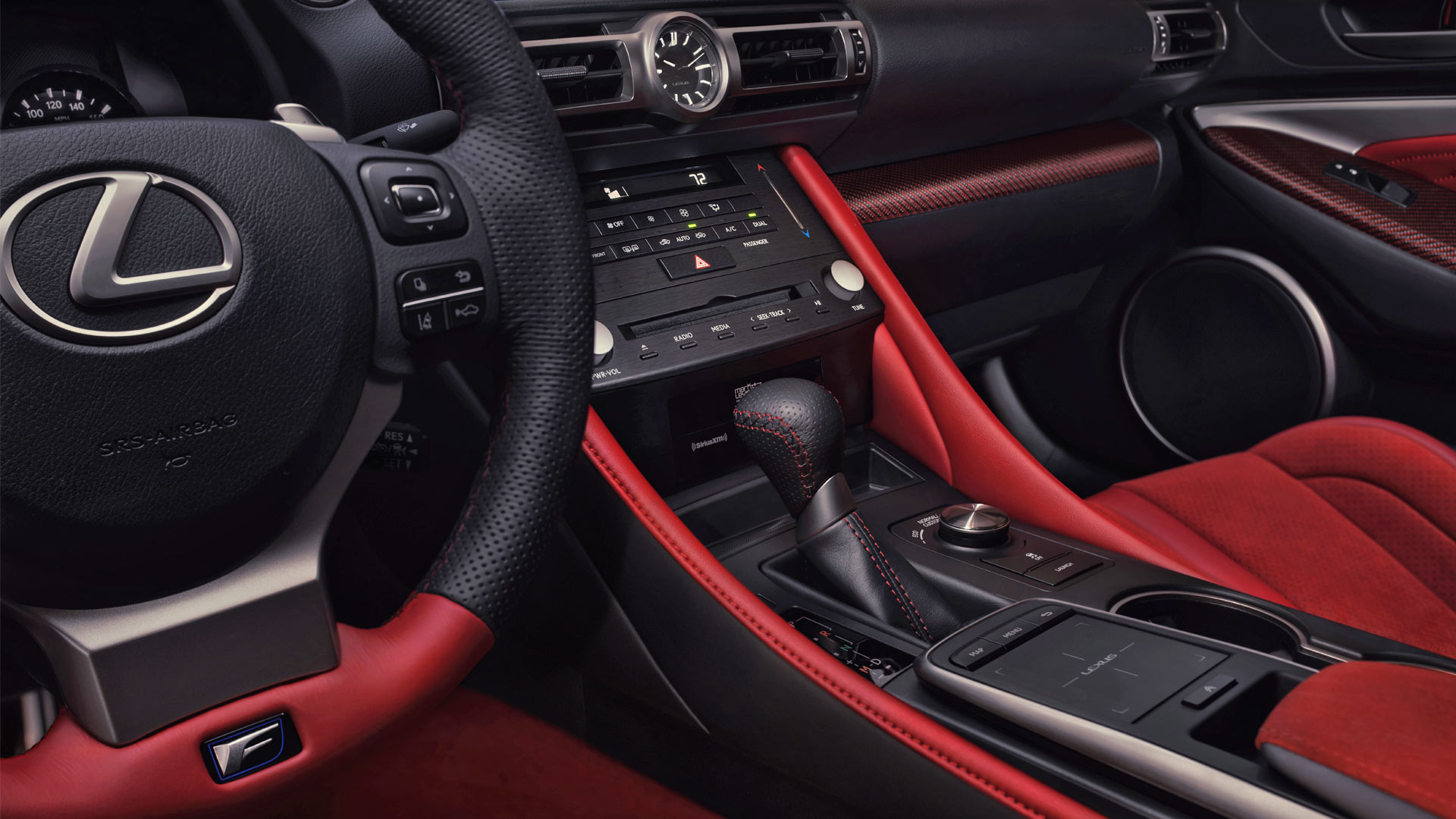 2020-Lexus-RC-F-Track-Edition-Interior