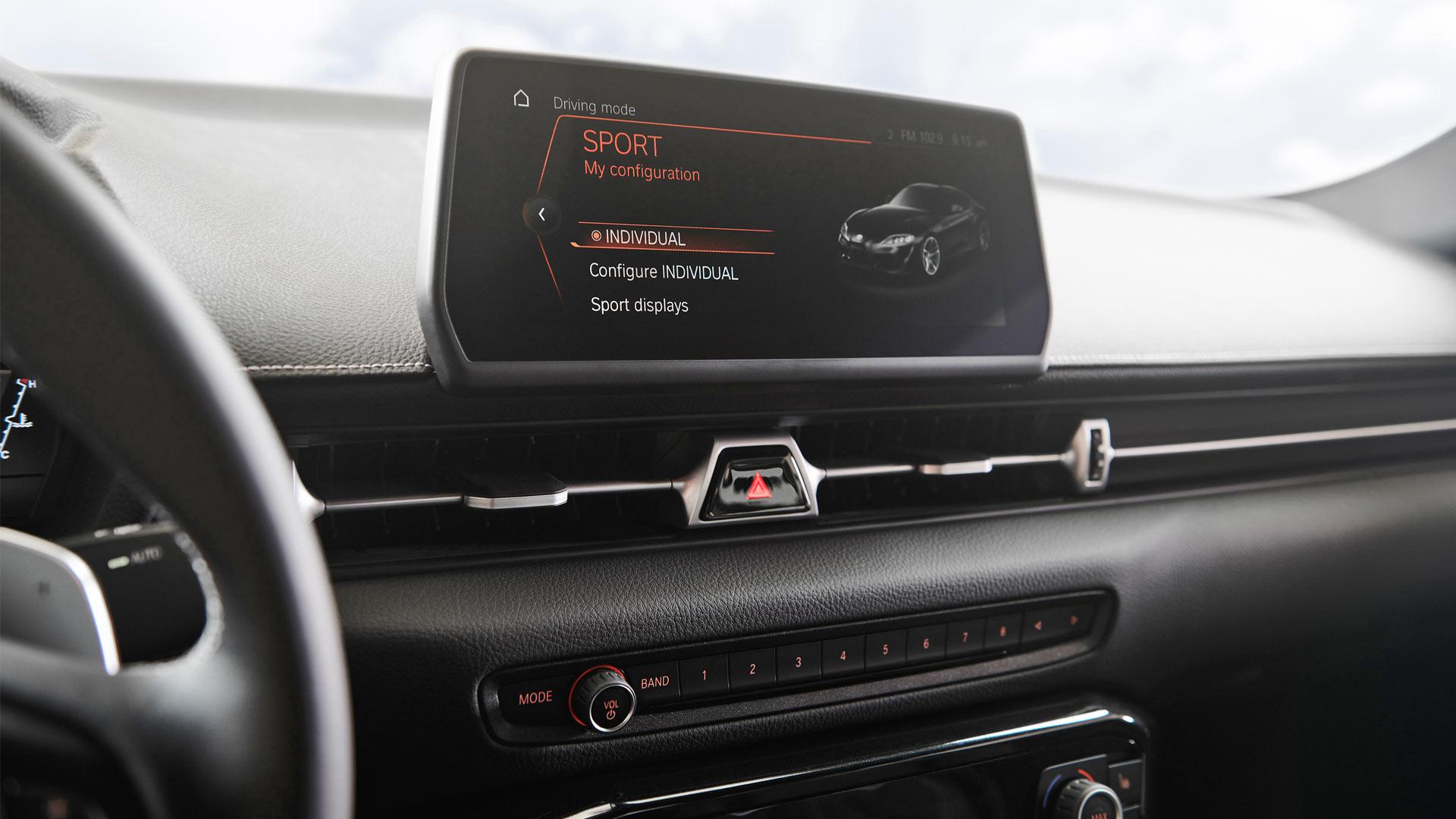 2020 Toyota Supra Interior BMW iDrive
