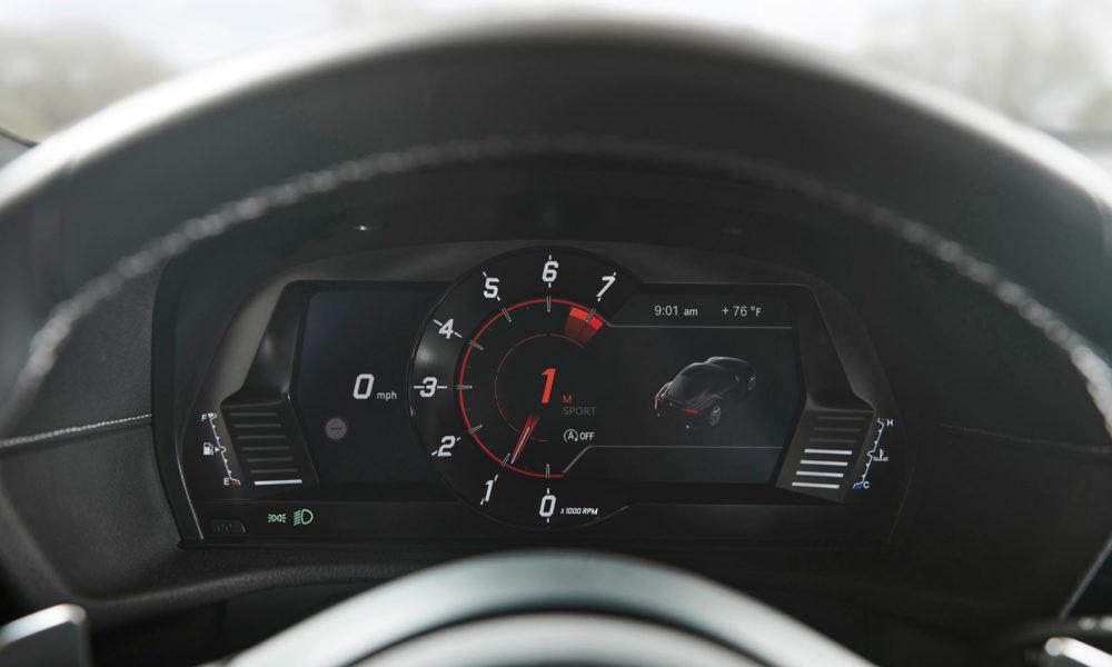 2020 Toyota Supra Interior Instrument Cluster