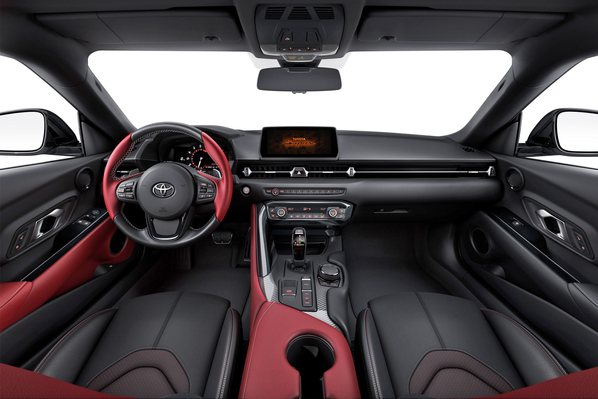 2020 Toyota Supra Launch Edition Interior