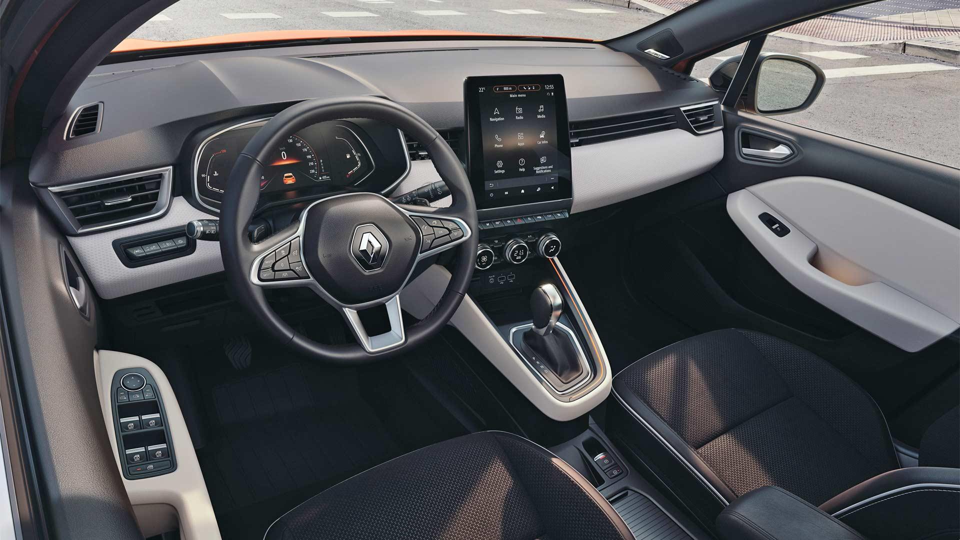 5th-generation-2019-Renault-Clio-Interior