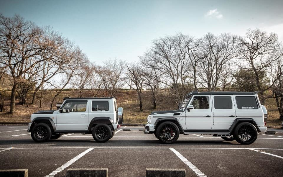 Liberty Walk Suzuki G mini Mercedes-AMG G63_2