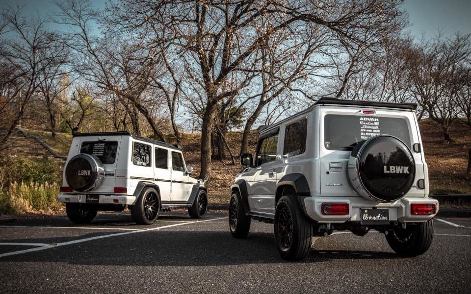 Liberty Walk Suzuki G mini Mercedes-AMG G63_3