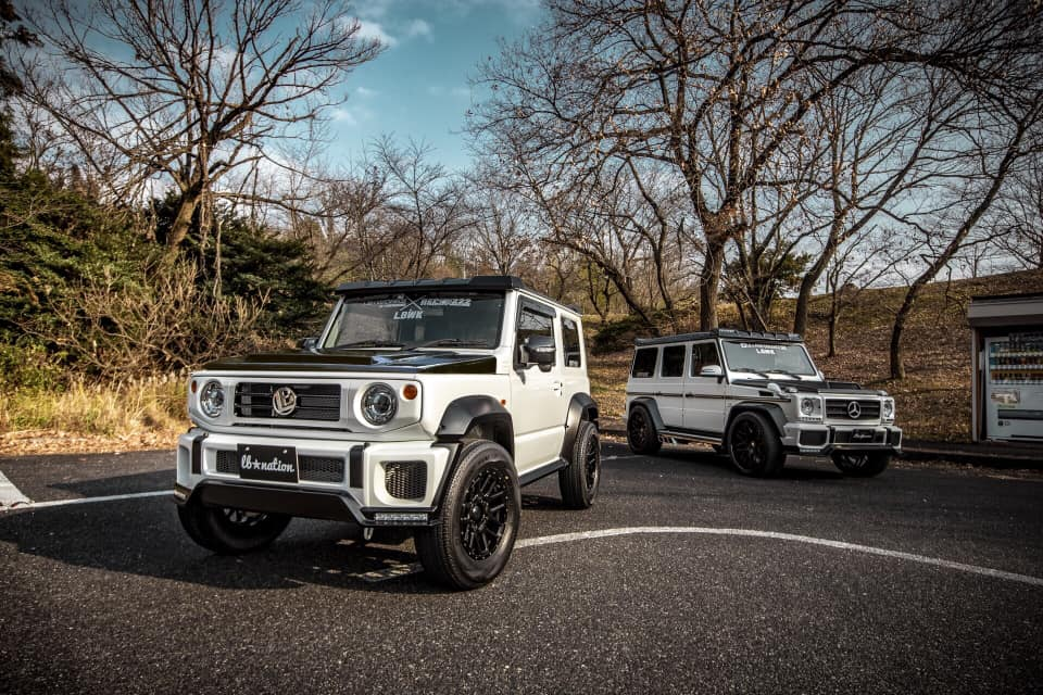 Liberty Walk Suzuki G mini Mercedes-AMG G63_5