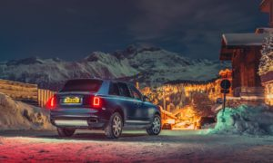 Rolls-Royce Cullinan Courchevel 1850 ski resort