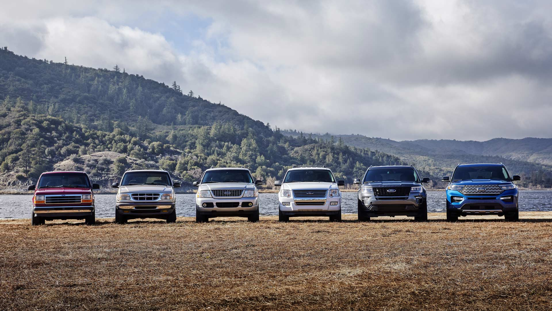 Six-Generations-of-Ford-Explorer