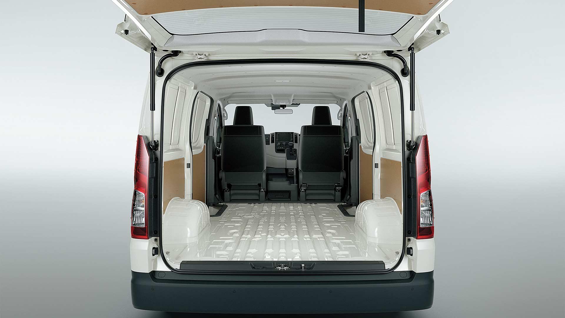 2019-6th-generation-Toyota-Hiace-cargo-Interior
