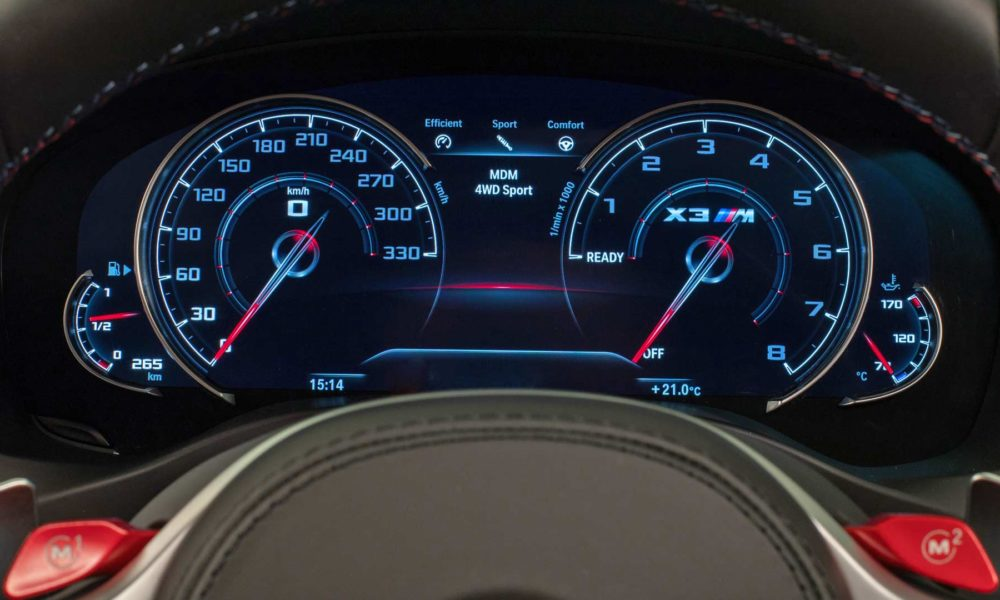 Bmw X M Competition Interior Instrument Cluster X