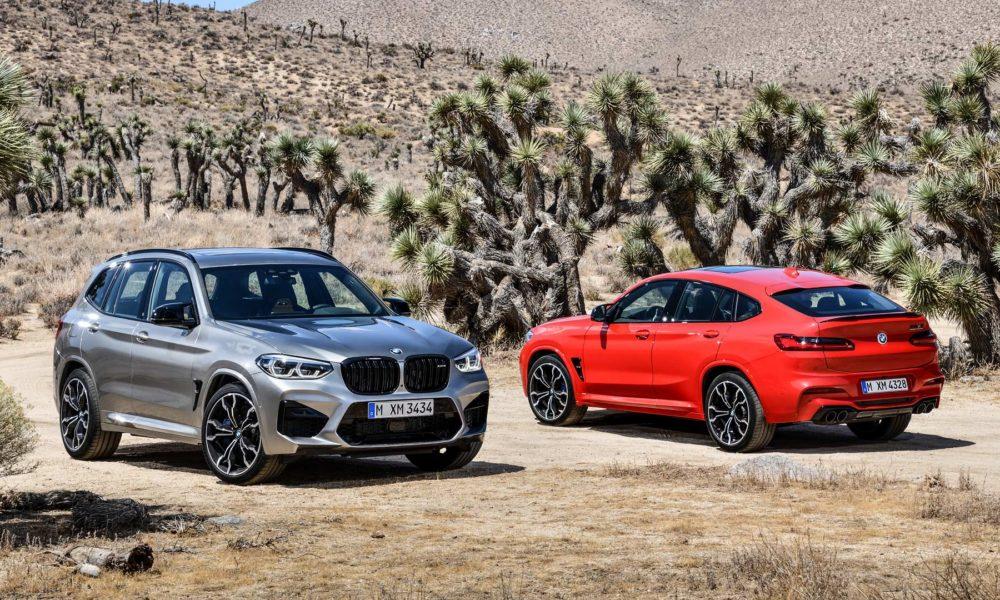 2019 BMW X3 M Competition and BMW X4 M Competition