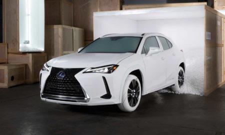 2019 Lexus UX Sole of the UX John Elliott Nike AF1 shoe inspired tires