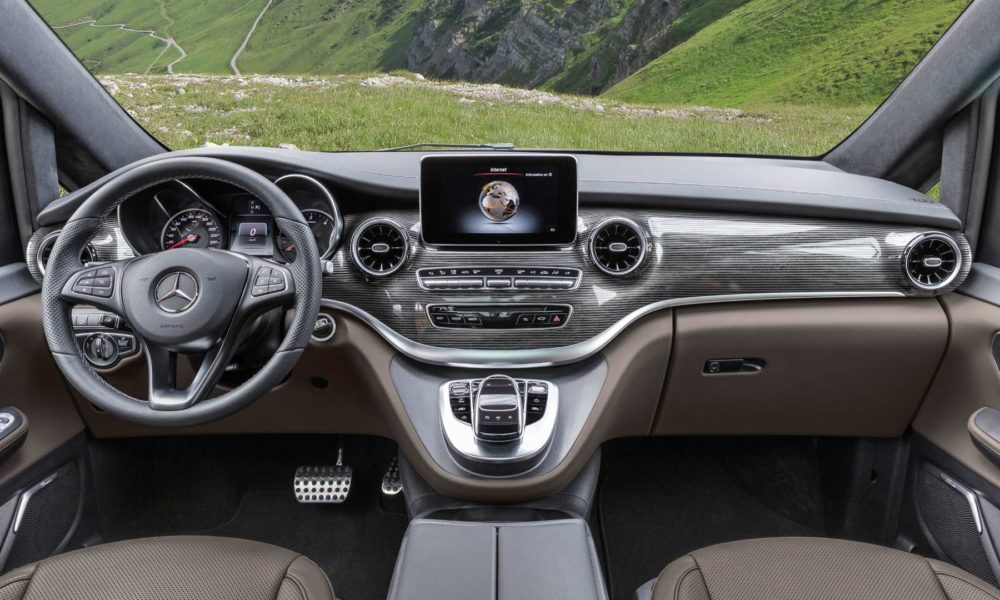2019-Mercedes-Benz-V-Class-facelift-Interior Tartufo Nappa leather_2