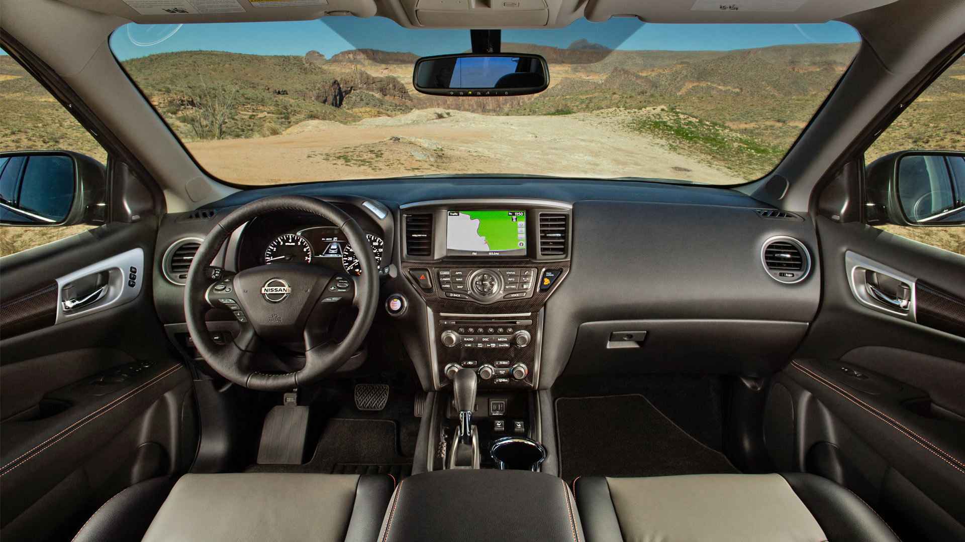2019 Nissan Pathfinder Rock Creek Edition Interior