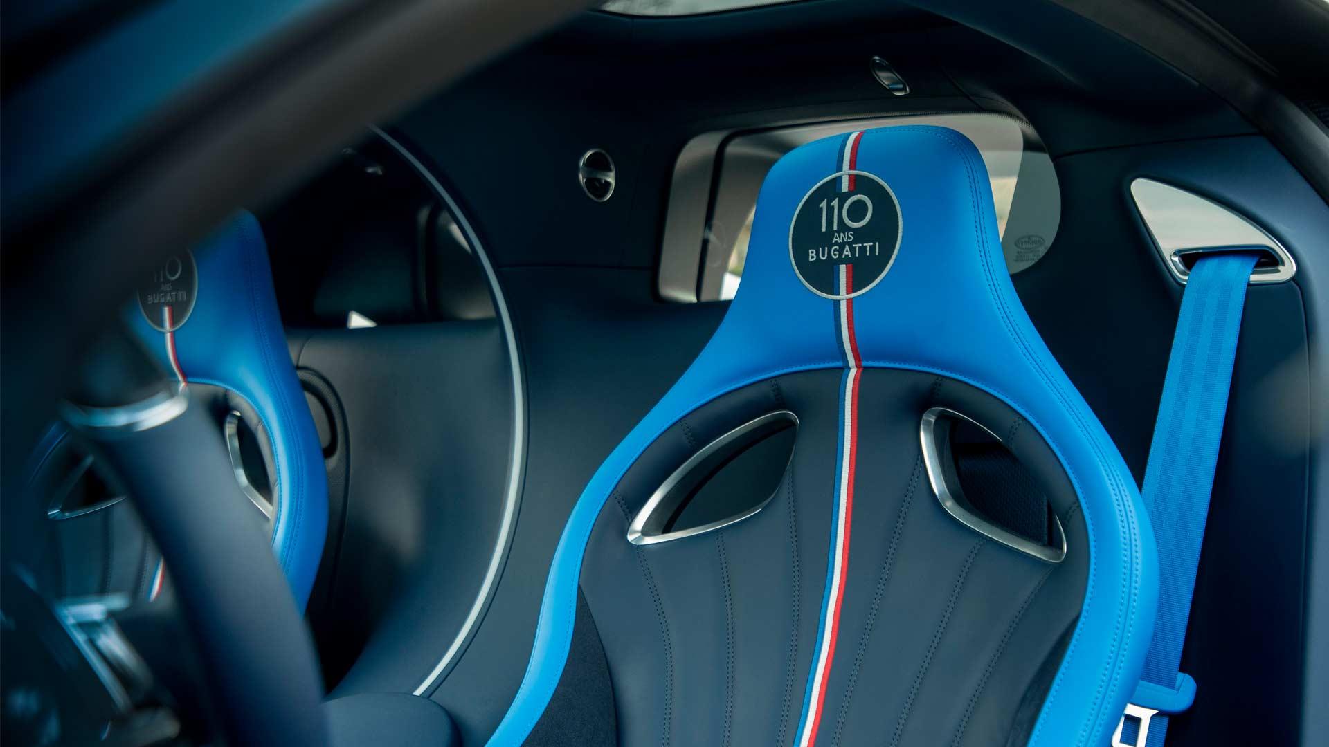 Bugatti Chiron Sport 110 ans Bugatti Interior
