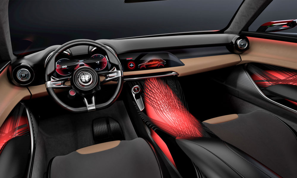 Alfa Romeo Tonale concept Interior