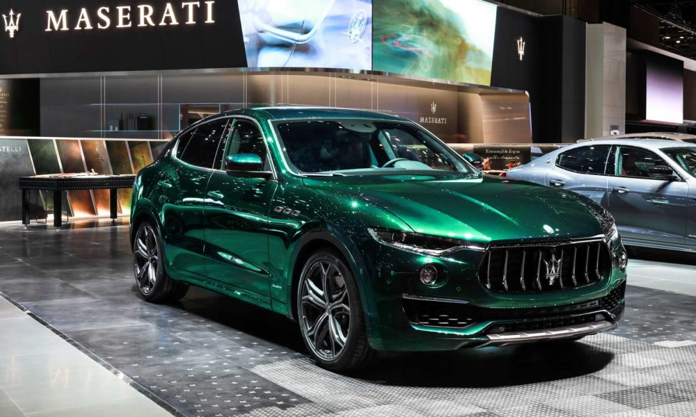 Allegra Antinori's ONE OF ONE Maserati Levante