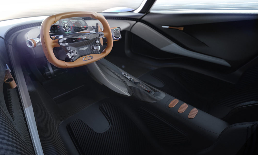 Aston Martin AM-RB 003 Interior