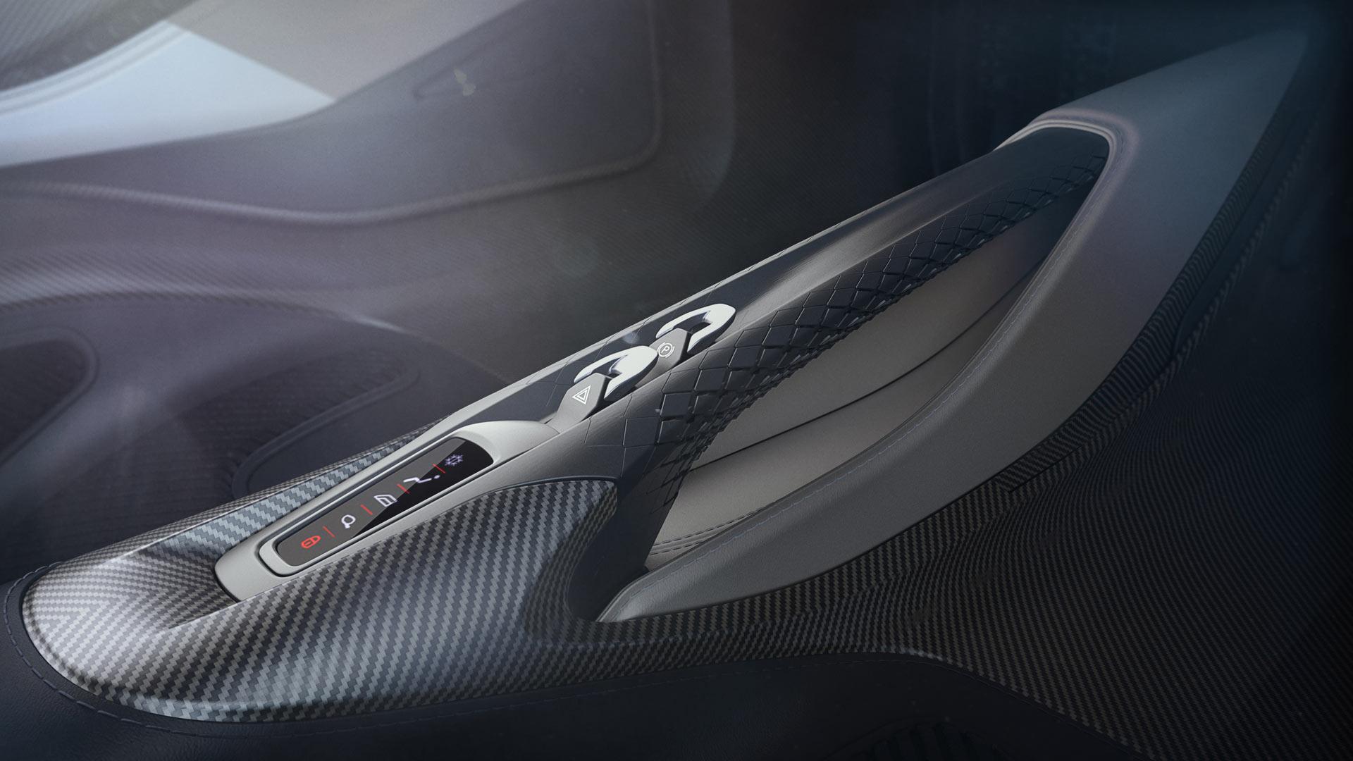 Aston Martin AM-RB 003 Interior Centre Console