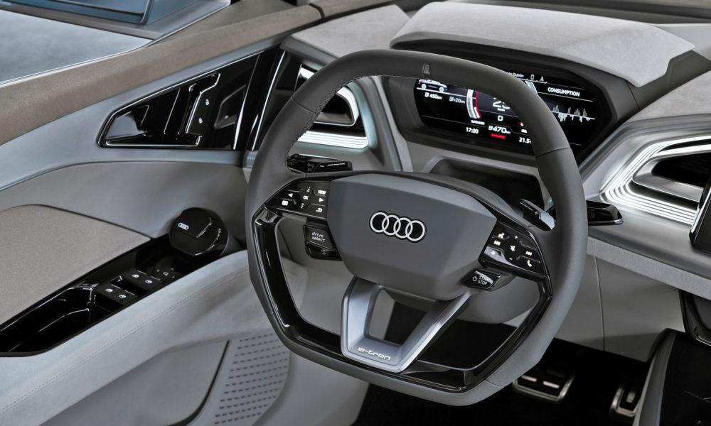 Audi-Q4-e-tron-concept Interior Steering Wheel Instrument Cluster