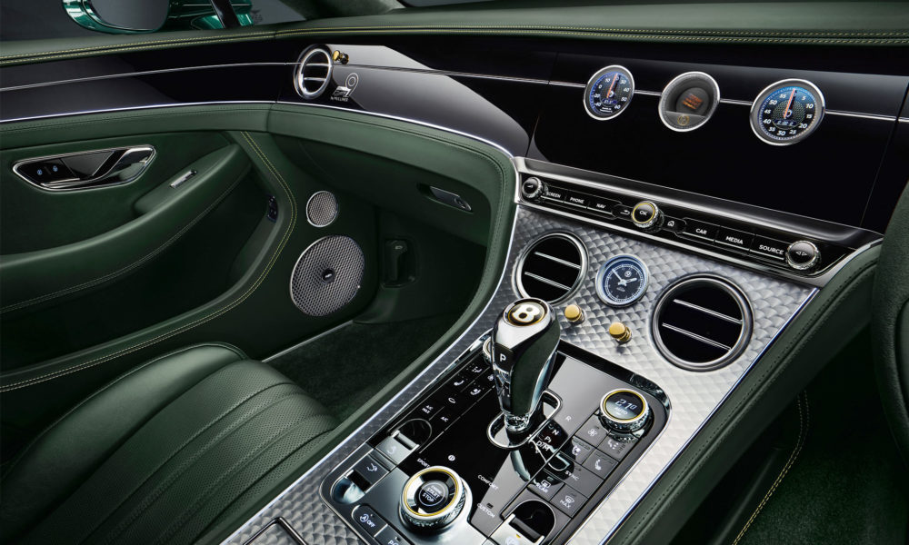 Bentley Continental GT Number 9 Edition by Mulliner Interior_2