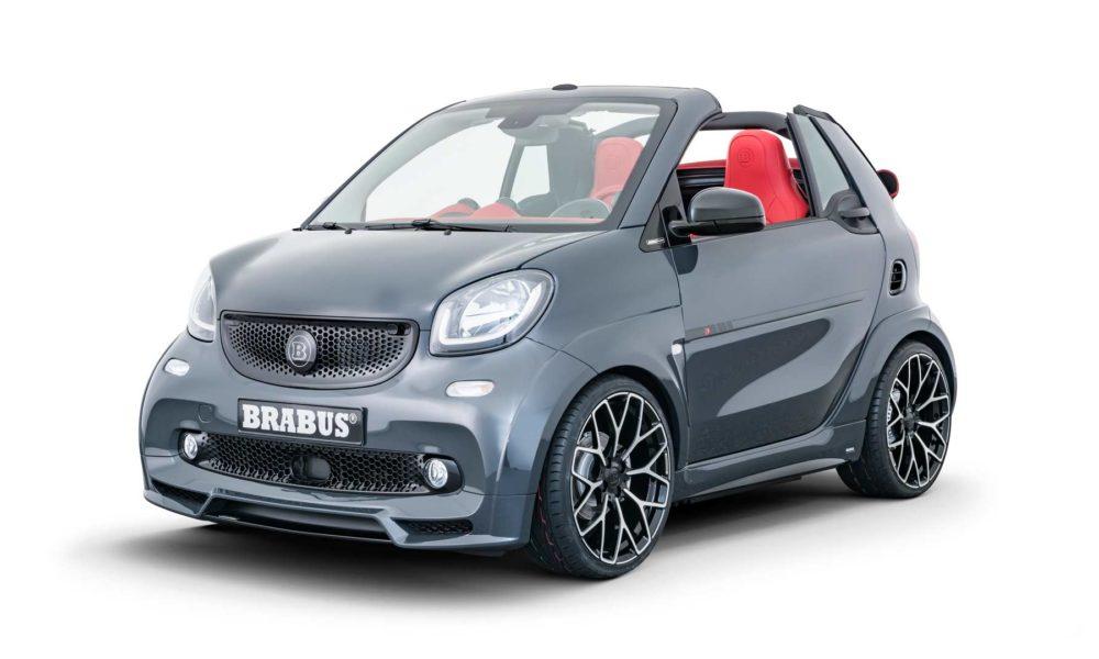 Brabus Ultimate E Shadow Edition smart EQ fortwo cabrio