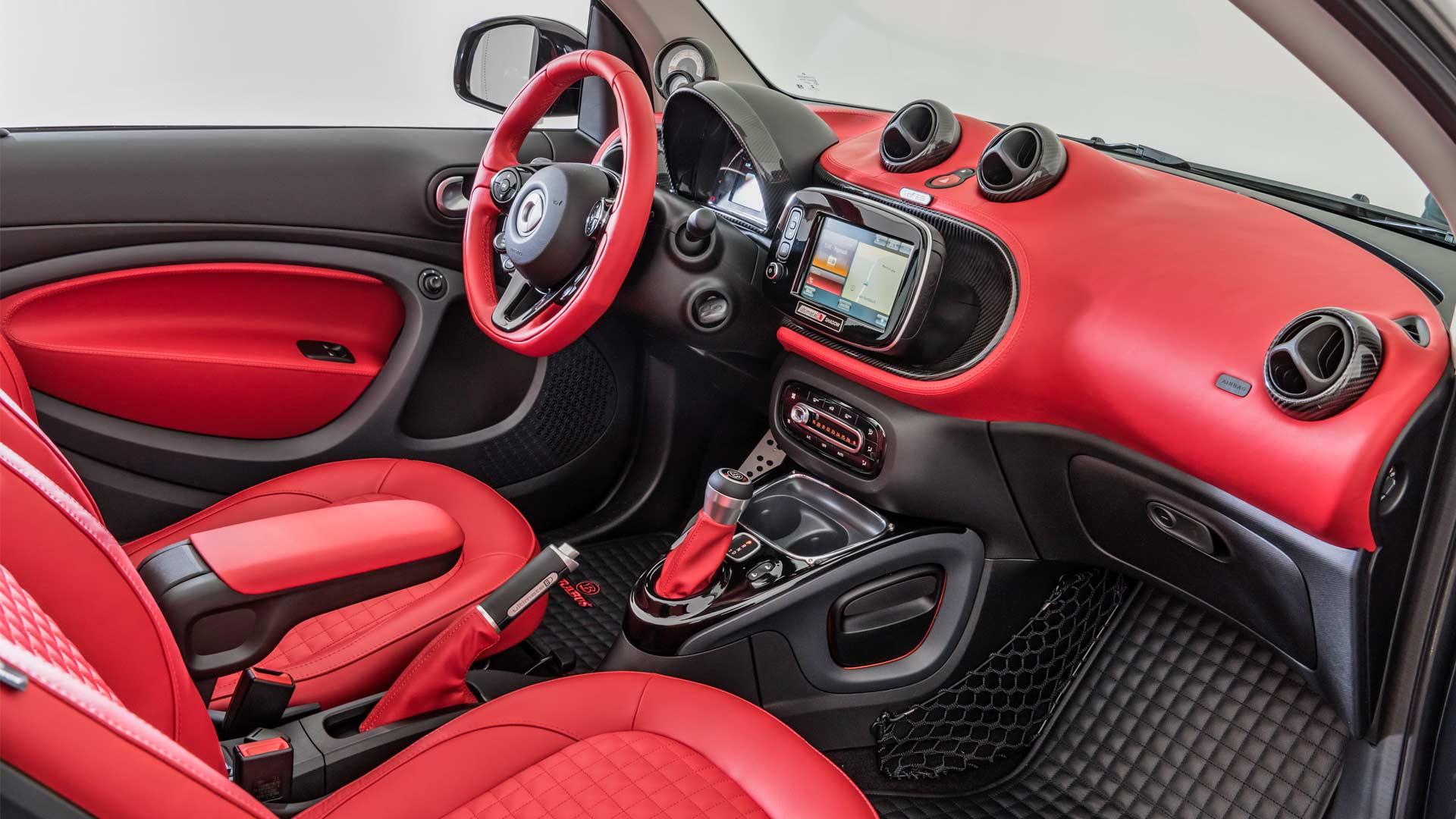 Brabus Ultimate E Shadow Edition smart EQ fortwo cabrio Interior_4
