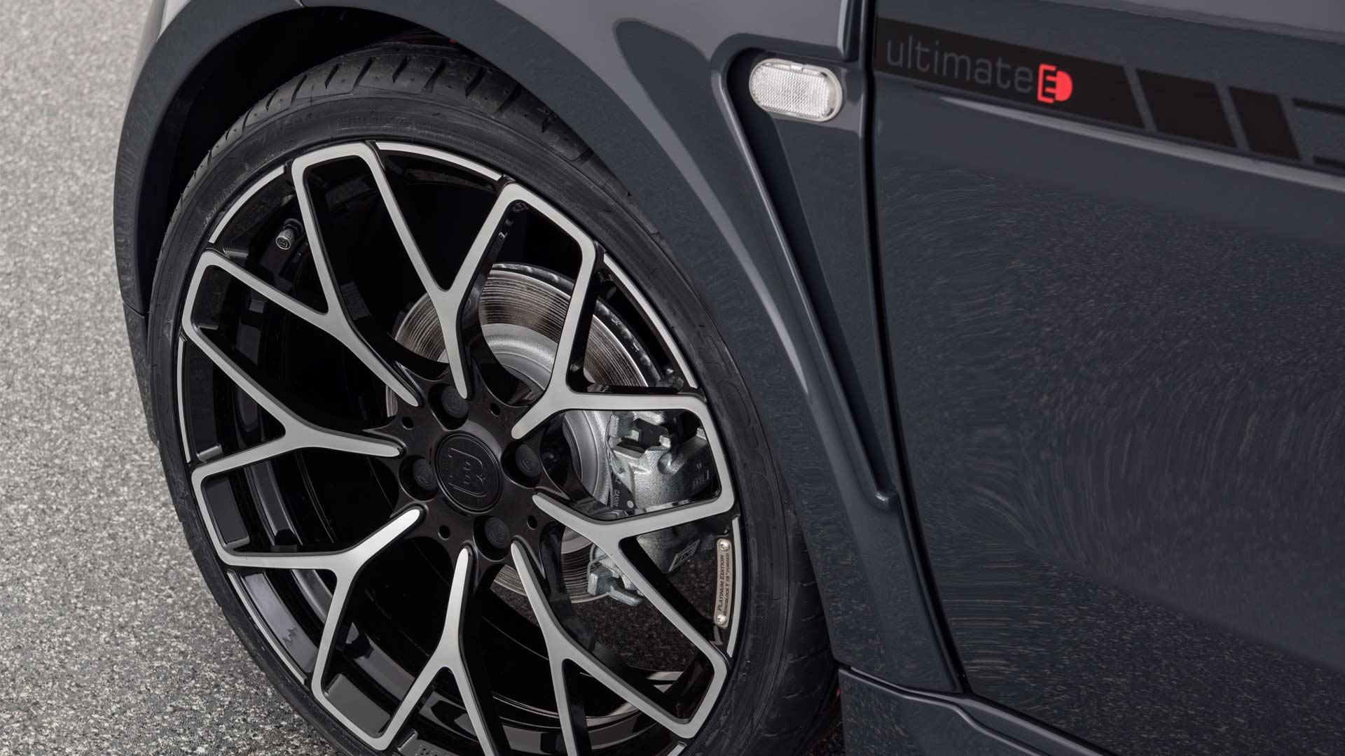 Brabus Ultimate E Shadow Edition smart EQ fortwo cabrio Wheels