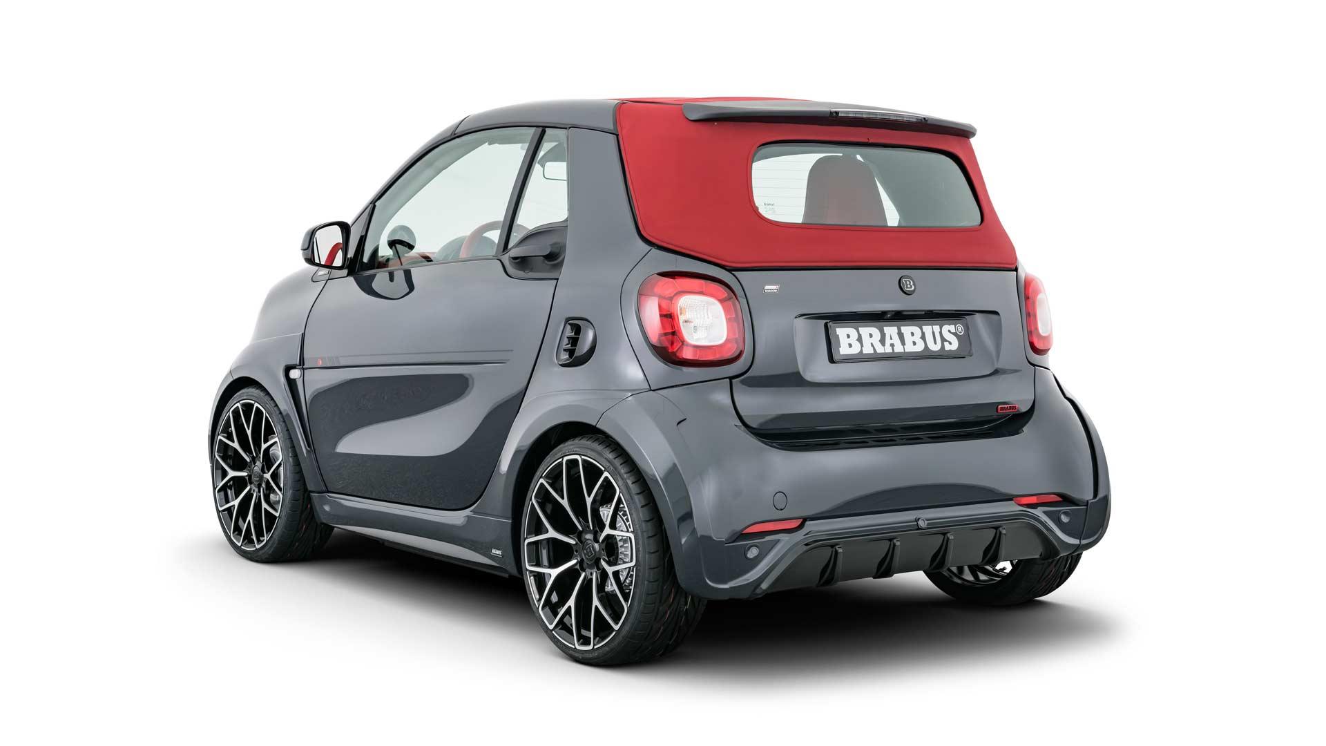 Brabus Ultimate E Shadow Edition smart EQ fortwo cabrio_4