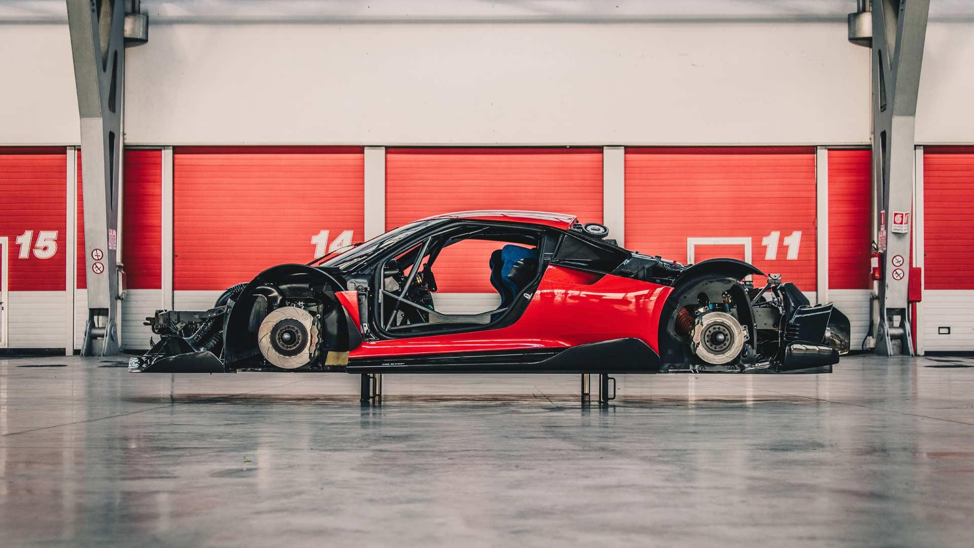 Ferrari-P80-C-Chassis