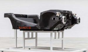 First prototype carbon fibre chassis from McLaren Composites Technology Centre (MCTC)_2
