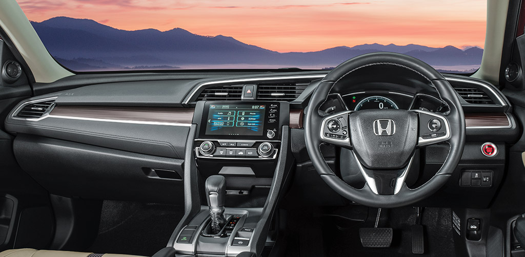 Honda-Civic-India-Interior