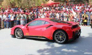 India's first Ferrari 488 Pista