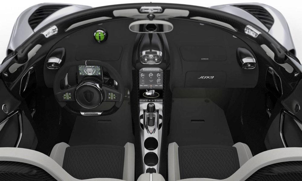 Koenigsegg-Jesko Interior